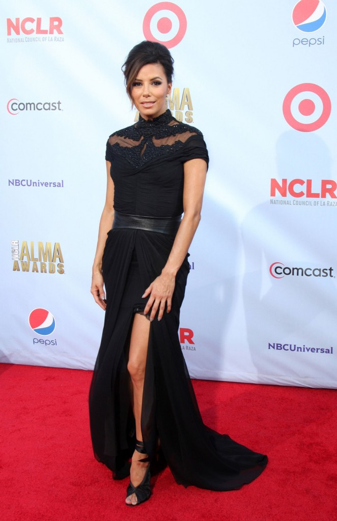 eva_longoria_long_black_dress