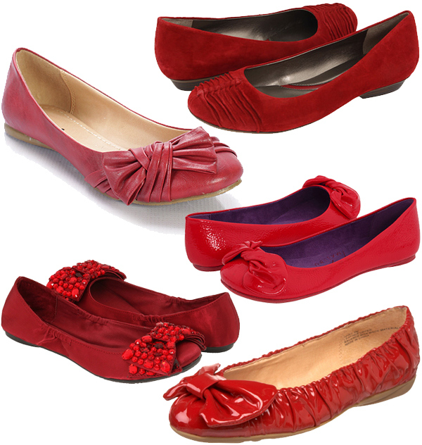 kelly-red-flats