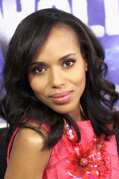 Kerry Washington Visits the Young Hollywood Studio