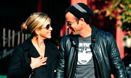 FILE: Jennifer Aniston And Justin Theroux Are Engaged