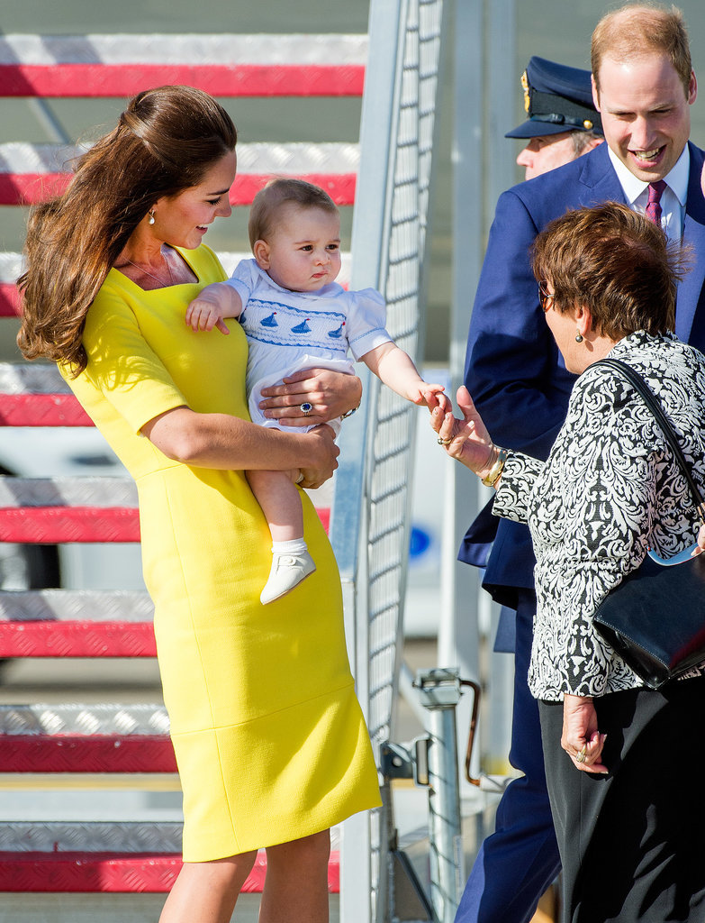 Prince-George-Arriving-Sydney-Pictures