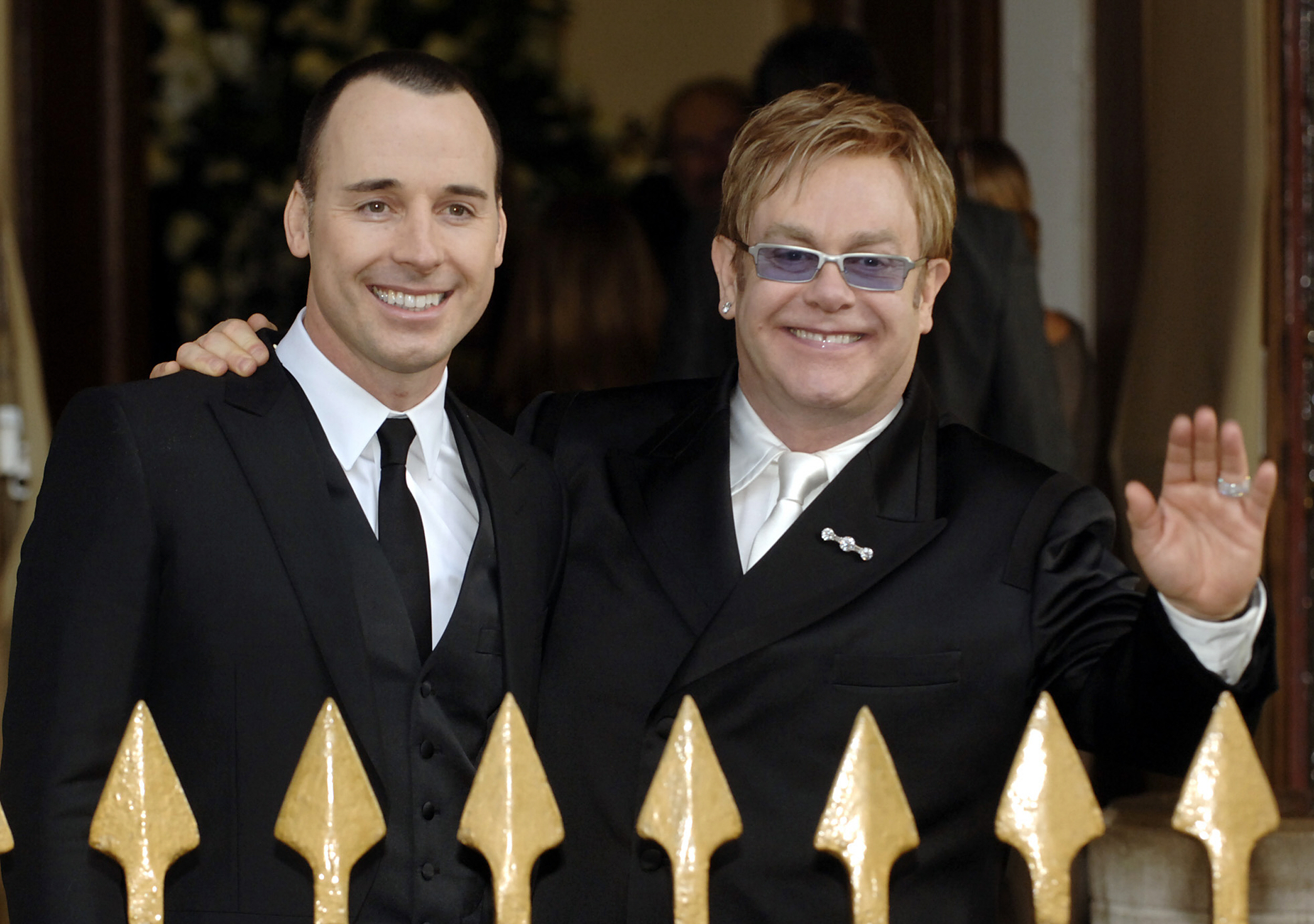 BRITAIN-GAY-MARRIAGE-ELTON-JOHN-FURNISH