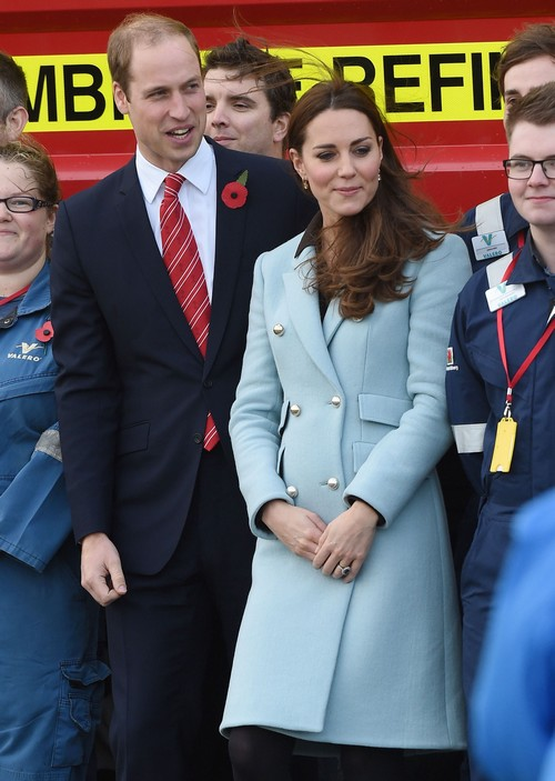 Prince William & Kate Middleton Visit The Valero Pembroke Refinery