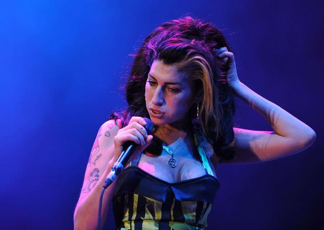 Amy Winehouse in Concert, Belgrade, Serbia - 18 Jun 2011
