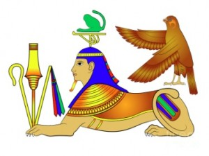 sphinx-drawing-egypt