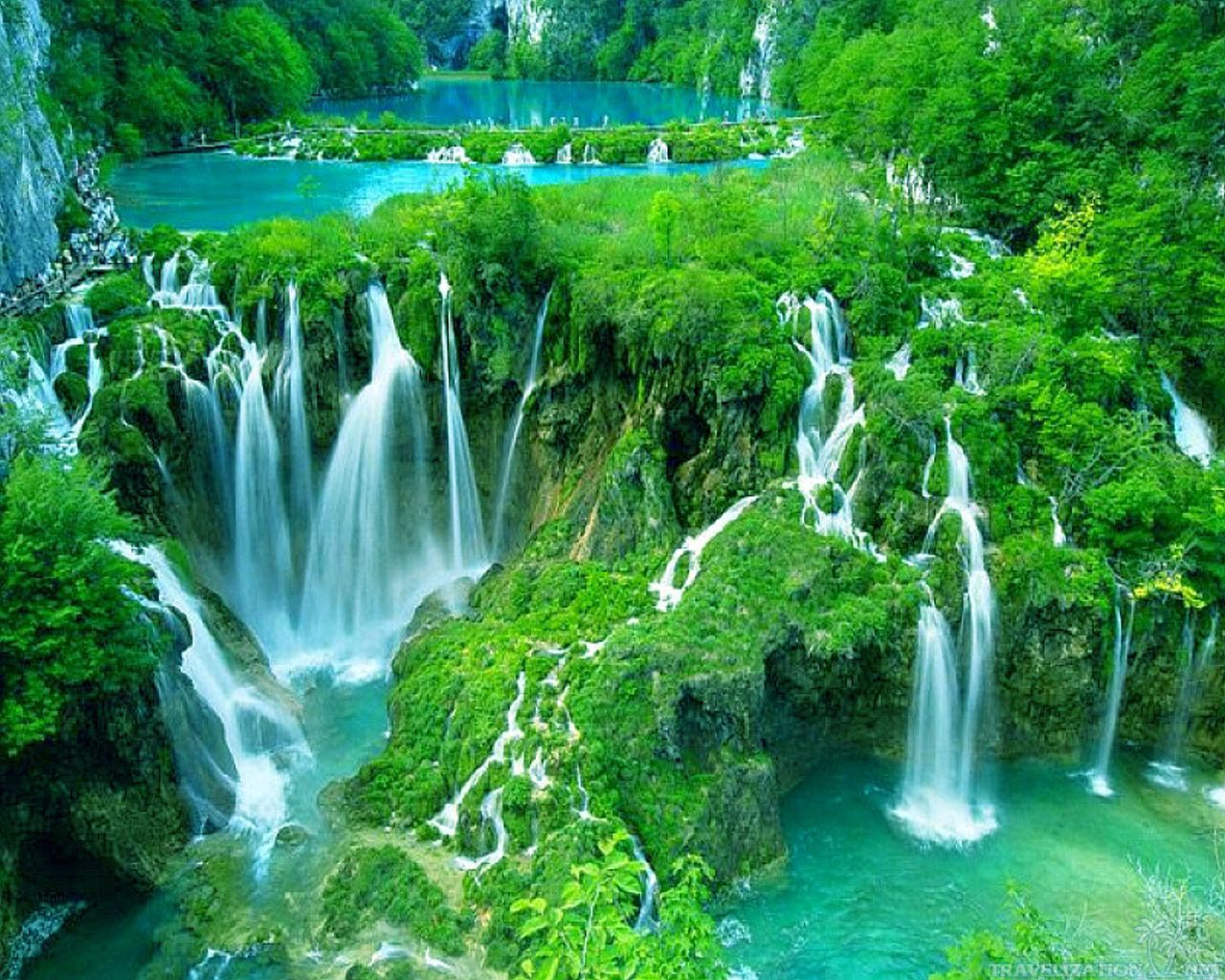 Plitvice-Waterfalls-8-Widescreen-HD
