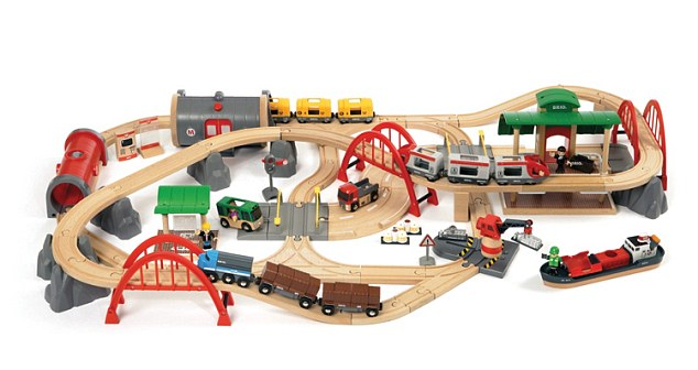 BRIO Deluxe Railway Set - £220 from Debenham