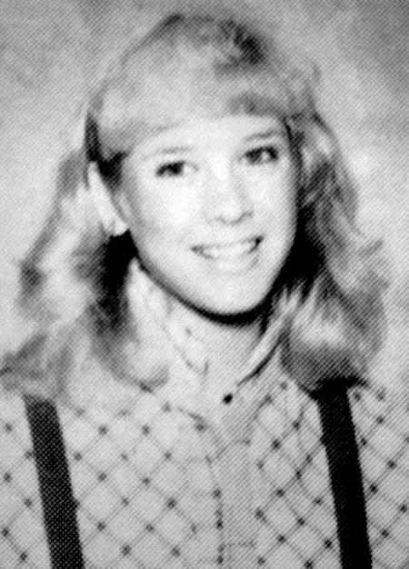Renee Zellweger in high school yearbook photos