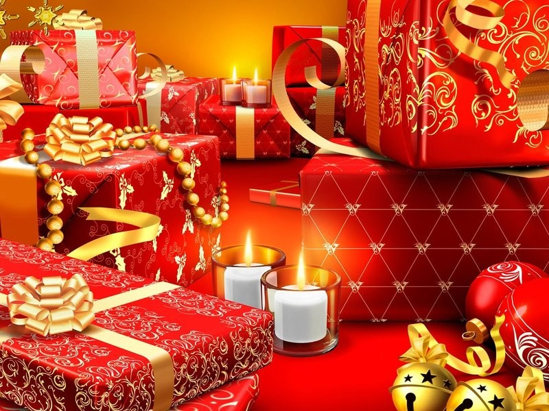 A-lot-of-Christmas-gifts-wrapped-in-red-paper-HD-wallpaper_1280x1024